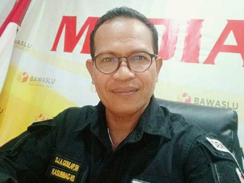 DJ Arifin Goulap - Kasubag Hukum Bawaslu Provinsi Papua Barat
